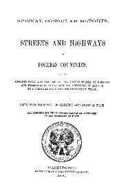Special Consular Reports: Volume 3