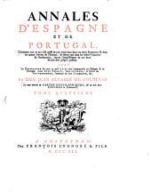 Annales d'Espagne et de Portugal: Volume4