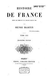Histoire de France, depuis les temps les plus reculés jusqu'en 1789: Volume16