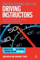 Practical Teaching Skills for Driving Instructors PDF