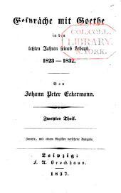 Gespräche mit Goethe: Band 2