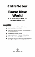 CliffsNotes on Huxley s Brave New World PDF