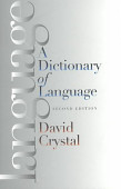 A Dictionary Of Language