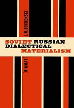 Soviet Russian Dialectical Materialism [Diamat]