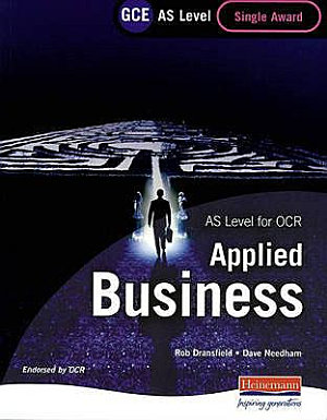 GCE AS Level Business Single Award for OCR PDF