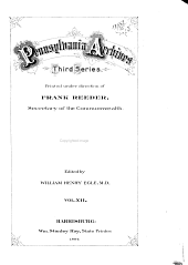 Pennsylvania Archives ...: Volume 12