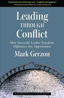 Leading Through Conflict PDF