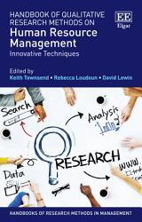 Handbook Of Qualitative Research Methods On Human Resource Management Book PDF