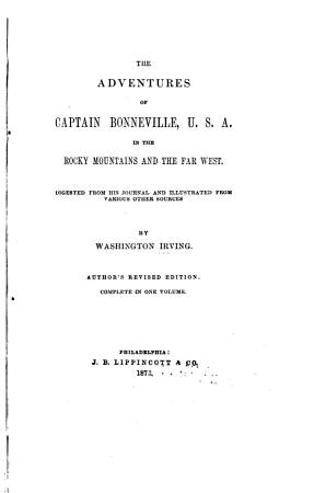 The Adventures of Captain Bonneville PDF