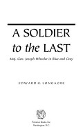 A Soldier to the Last PDF