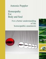 Homeopathy for Body and Soul PDF