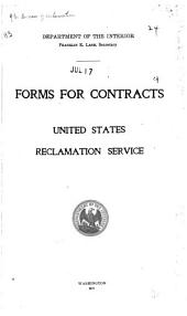 Forms for Contracts