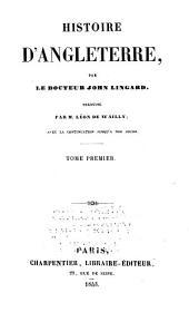 Histoire d'Angleterre: Volume1