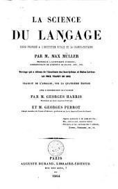 La science du langage