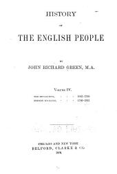 History of the English People: Volume 4