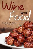 Wine and Food PDF