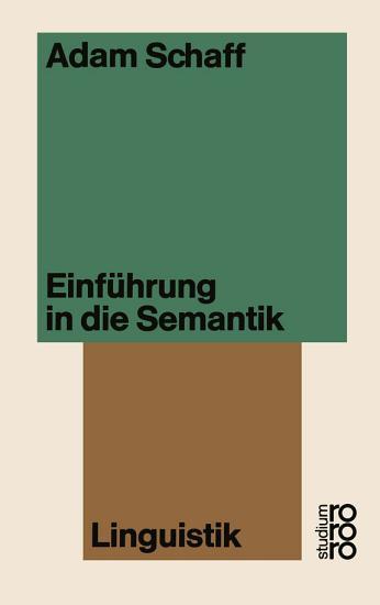 Einf  hrung in die Semantik PDF