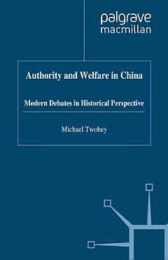 Authority and Welfare in China PDF