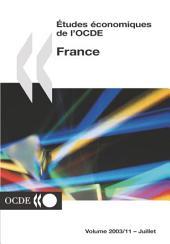 Études économiques de l'OCDE : France 2003