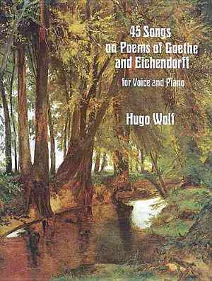 45 songs on poems of Goethe and Eichendorff PDF