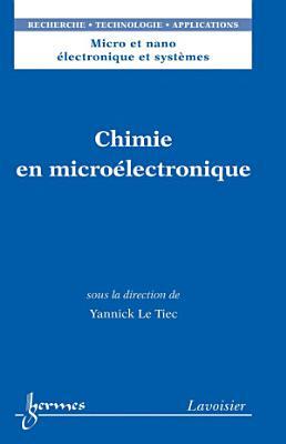 Chimie en micro  lectronique PDF
