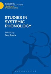 Studies in Systemic Phonology