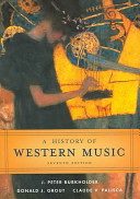 A History of Western Music PDF
