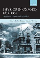 Physics in Oxford  1839 1939 PDF