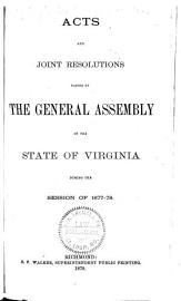 Acts and Joint Resolutions  Amending the Constitution  of the General Assembly of the State of Virginia PDF