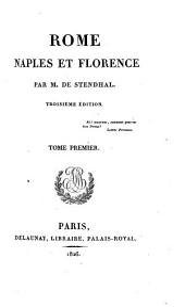Rome, Naples et Florence: Volumes1à2