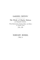 Barnaby Rudge A Tale Of The Riots Of Eighty Vol I Paperbound Book PDF
