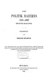 Briefe und Acten zur Geschichte des Dreissigjährigen Krieges in den Zeiten des vorwaltenden Einflusses der Wittelsbacher: Band 5