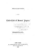 Recollections of the Table-talk of Samuel Rogers