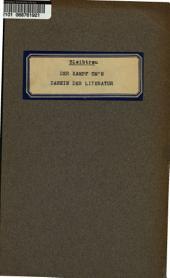 Der Kampf um's Dasein der Literatur