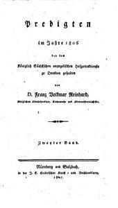 Predigten im Jahr ... bey dem Churfürstl. Sächsischen Evangelischen Hofgottesdienste zu Dresden gehalten: Predigten über die sonn- und festtäglichen Episteln. 1806,2