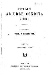 Ab urbe condita libri: Volume 6