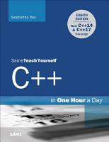 C   in One Hour a Day  Sams Teach Yourself PDF