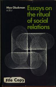 Essays on the Ritual of Social Relations PDF