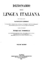 Dizionario della lingua italiana: Volume 2