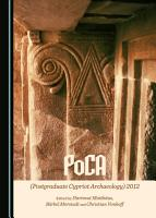 PoCA  Postgraduate Cypriot Archaeology  2012 PDF