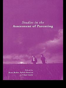 Studies in the Assessment of Parenting PDF