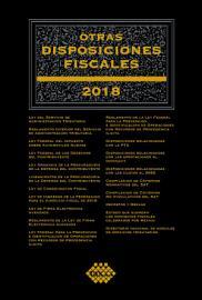 Otras disposiciones fiscales 2018 PDF