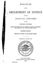 Register of the Department of Justice ...: Volume 14, Part 1902