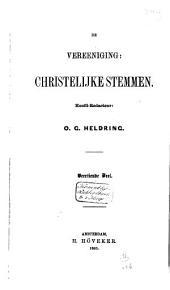 De Vereeniging Christelijke Stemmen: Volume 14