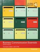 Business Communication Essentials  Global Edition PDF