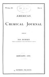 American Chemical Journal: Volume 13