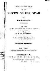 The History of the Seven Years War in Germany