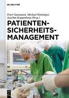 Patientensicherheitsmanagement PDF