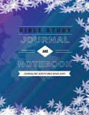 Bible Study Journal And Notebook Book PDF