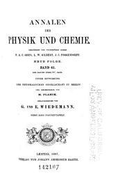 Annalen der Physik und Chemie: Band 297